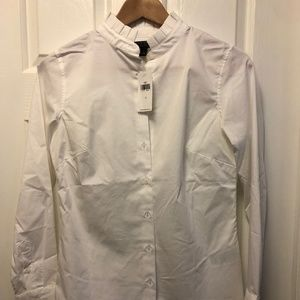 Banana Republic Button Down with French Collar